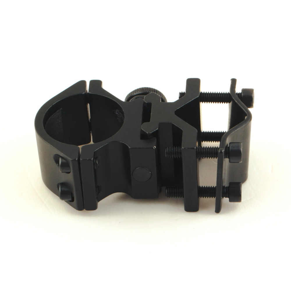 Universal Mount Adapter For Flashlight Laser Torch Sight Scope 1 inch