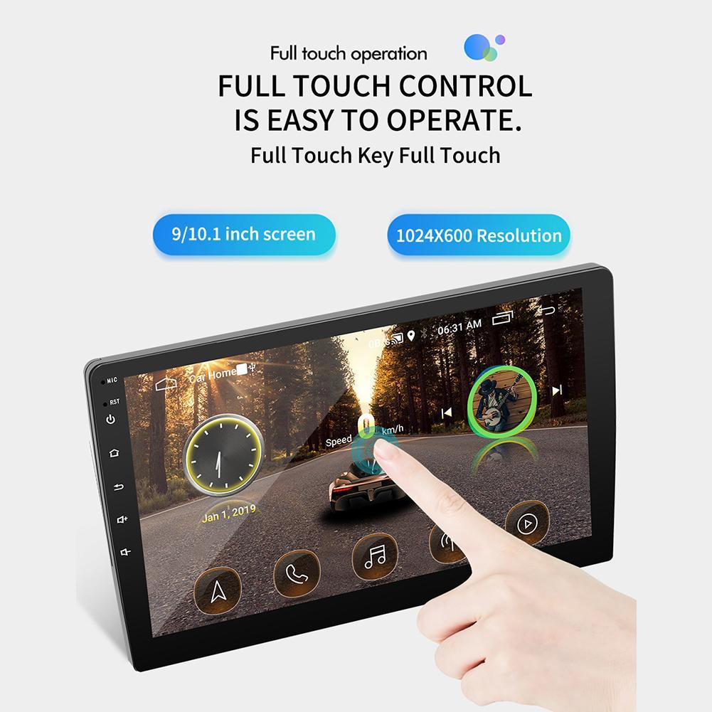 9/10. 1 zoll Auto Radio Android 8.1 HD Touch Screen Bluetooth GPS Navigation WIFI Internet Zugang Multi Funktionale Radio & Kamera - 6