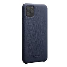 Qialino 럭셔리 정품 가죽 전화 커버 애플 iphone11 프로 최대 6.5 인치 세련 된 울트라 라이트 다시 케이스 아이폰 11/11pro