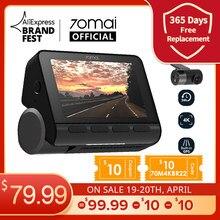 70mai-Cámara de salpicadero A800S, 4K, GPS ADAS integrado, Real, 4K, A800, imagen de calidad de cine UHD, cámara frontal y trasera de aparcamiento 24H, 140FOV