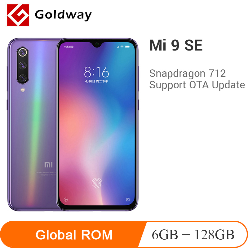 Global ROM Xiaomi Mi 9 SE 6GB RAM 128GB ROM Mobile Phone Mi9 SE Snapdragon 712 Octa Core 5.97