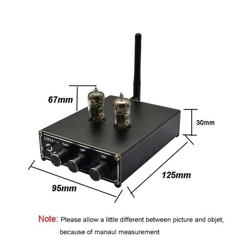 Image 2 - QCC3003 بلوتوث 5.0 HiFi أنبوب Preamplifier preamp 2 لهجة مضخم ضوت  سماعات الأذن مع DAC PCM5102   امدادات الطاقة-في مكبر صوت من الأجهزة  الإلكترونية الاستهلاكية على