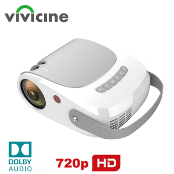 Vivicine 2020 Best HD Home Theater Video Projector,Support AC3 HDMI USB PC Video Game Movie Proyector Beamer