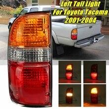 Lewy/prawy para ogon światło hamulca lampy dla Toyota Tacoma 2001 2002 2003 2004 Auto tylne światła samochodowe wymiana zespołu z drutu