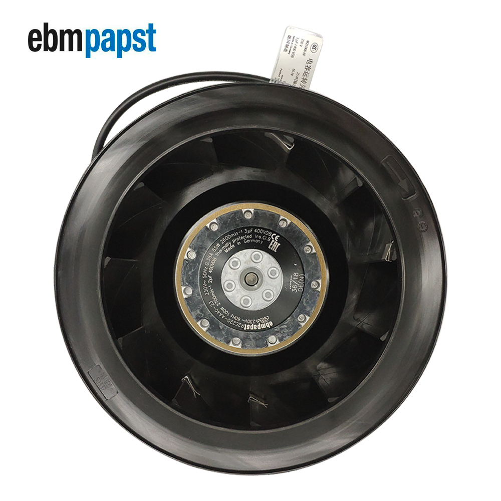 Ebmpapst Germany R2E220-AA40-23 Centrifugal Fan  230VAC 85/100W 530CFM Cooling Fan