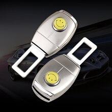Boucle dextension de ceinture de sécurité en métal pour Chevrolet cruze silverado captiva, 1 pièce