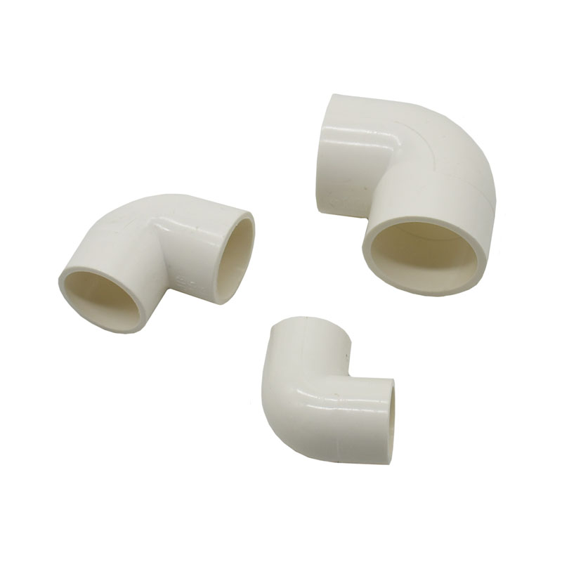 DN15 DN20 DN25 PVC Water pipe elbow knee connection 1/2 3/4 1\