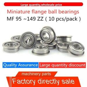 Прямая продажа с фабрики высококачественные миниатюрные фланцевые шарикоподшипники MF95 ~ 149 ZZ (железная крышка) 10 шт./Большая посылка со скид...