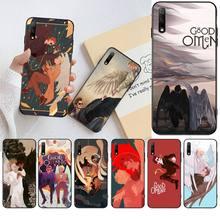 Чехол для телефона CUTEWANAN с ангелом и демоном хорошего качества для Huawei Nova 6se 7 7pro 7se honor 7A 8A 7C Prime2019