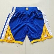 Pantalones cortos de baloncesto  Shorts masculinos de malla con diseño de los Golden Warriors 30 de la NBA Stephen Curry