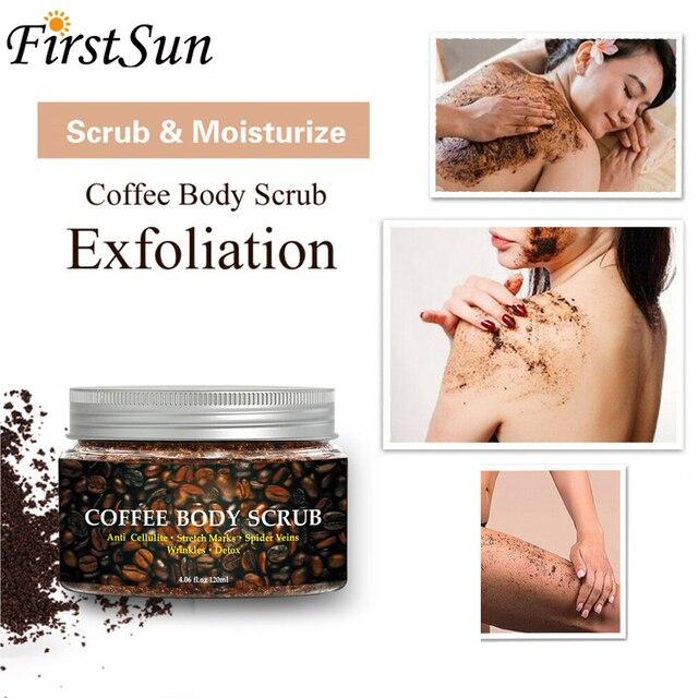 Coffee Scrub Body Scrub Cream Facial Dead Sea Salt For Exfoliating Whitening Moisturizing Anti Cellulite Treatment Acne 1