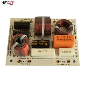Image 1 - HIFIDIY canlı L 480C 3 yollu 4 hoparlör ünitesi (tweeter + orta + 2 * bas) hiFi hoparlörler ses frekans bölücü Crossover filtreler