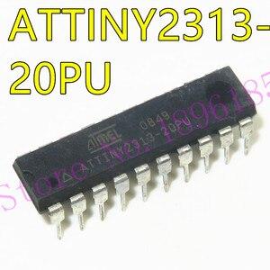 1pcs/lot ATTINY2313-20PU ATTINY2313 DIP20 8-bit Microcontroller with 2K Bytes In-System Programmable Flash