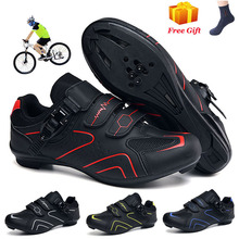 2020 New MTB Cycling Shoes Men Breathable Racing Road Bike Shoes Self-locking Professional Bicycle Sneakers Women Sports Shoes