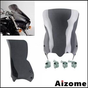 Image 4 - กระจกรถจักรยานยนต์ลม Air Deflector กระจกหน้าจอสำหรับ Suzuki Boulevard M109R2 M109RZ M109R M50 M90 2007 2016