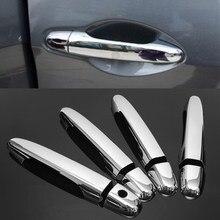 Хромированная крышка ручки двери отделка Подходит для Honda CRV 2012 2013