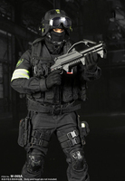 Super MCTOYS 1/6 Russian special forces national security agency alpha group 3.0 (black version) M 069A clothing set