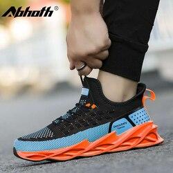 Abhoth 2020 New Men's Shoes Blade Cushioning Trend Men's Sneaker Autumn Leisure Mesh Breathable Shoes Zapato De Hombre
