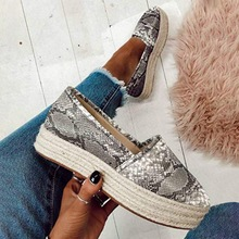 Faux Suede Espadrilles Shoes Casual Loafers Women Flats 2020 New Ballet Flats Ladies Zapatos Mujer e lov vintage design postage stamp and emblem printed canvas shoes high end customzied women casual flats zapatos mujer