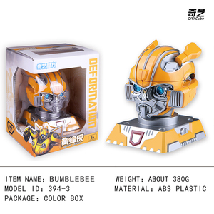 Image 5 - Qiyi High quality 12x15x20cm Bumblebee Optimus Prime Transformation Robot Head 2x2 Cube puzzle