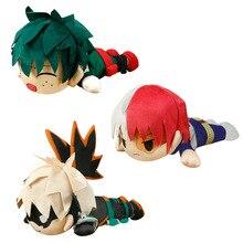 Hot Sale Kids New Anime My Hero Academia Cosplay Todoroki Shoto Plush Toys Stuffed Cartoon Dolls Soft Cotton Pillow Toys Gift