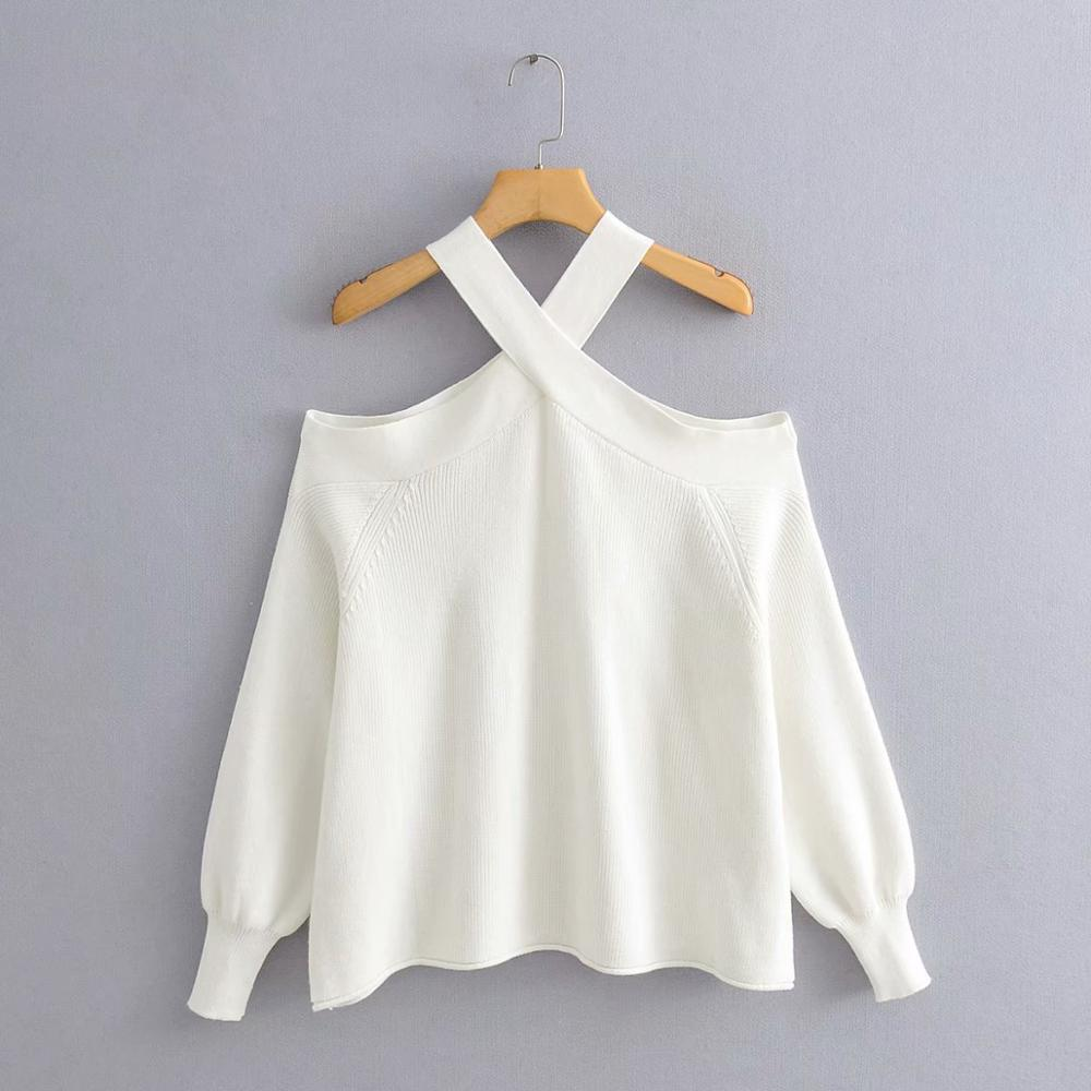 New Women's Fashion Sweaters 2020 Basic Knit Casual Slim Sweater