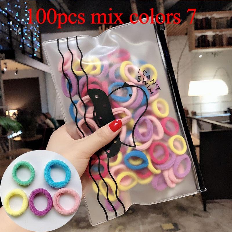 100pcs mix colors 7