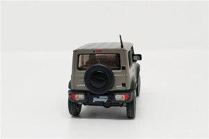 Image 5 - 1:64 BM Creations Suzuki Jimny (JB74) Matte Grey w/accessory pack Right Hand Drive Diecast Model Car