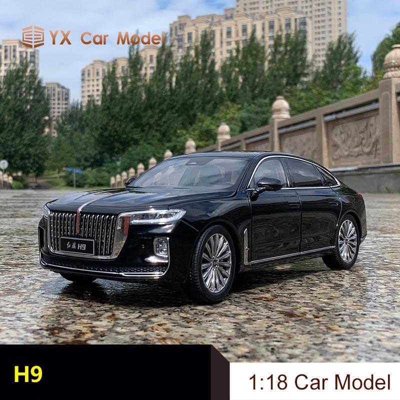 FAW Hongqi – modèle de voiture en alliage H9, modèle de collection, cadeau pour hommes