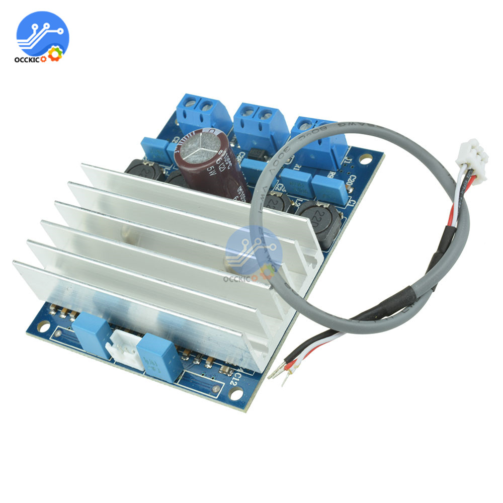 TDA7492 Digital Amplifier Board Class D 2x50W High-Power Audio Sound Board Speaker Volume Control With Radiator