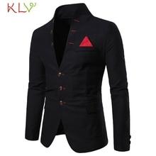 Мужской брендовый пиджак со стоячим воротником, белый, черный, красный Блейзер, повседневный модный дизайн, деловой Свадебный костюм, мужская одежда 19Sp
