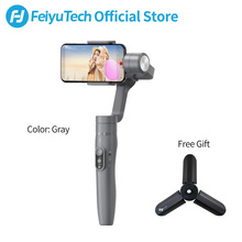 FeiyuTech Vimble 2 Handheld Smartphone Gimbal Feiyu 3-Axis Stabilizer with 183mm Extension Pole for Phone X 8 XIAOMI Samsung