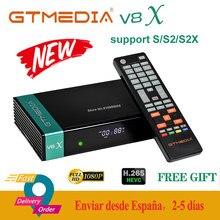 GTMedia V8X 1080P Volle HD DVB-S/S2/S2X Satellite Receiver Unterstützung CA karte H.265 Gebaut-in wifi upgrade form gtmedia V8 Nova/honor