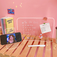 Stationery Memo-Note Message-Board Letter Transparent Kawaii Borad 1pc Phone-Stand-Holder