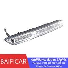 Бренд Baificar, светодиодные Третий Дополнительный тормозной фонарь высокого уровня 6351LX для Peugeot 2008 308 SW II 508 SW Citroen C4 Picasso II DS6