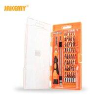 цена на 58 in 1 JAKEMY JM-8125 Screwdriver set Tool for repairing phones Multi-Bit Kit phone repair tools ifixit disassemble repair