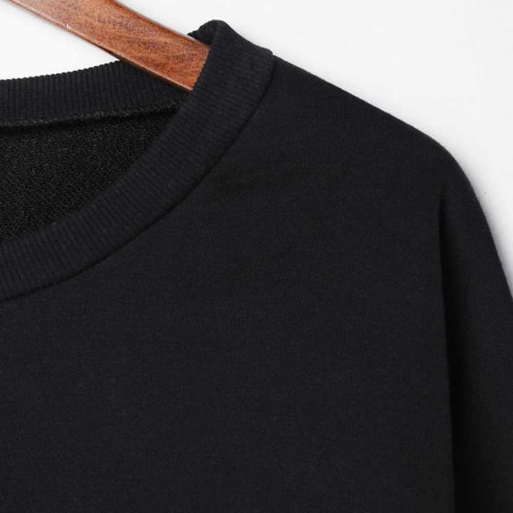 2020 여성을위한 새로운 사회 하라주쿠 후드 티 솔리드 컬러 탑 여성 의류 스웨터 긴팔 스프링 벨벳 오버 사이즈 까마귀