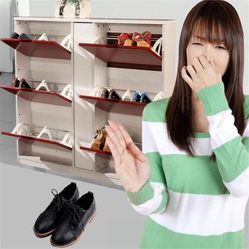 Nowy 10 sztuk eliminator zapachu piłka dla trampki skórzane buty szafka na buty dezodorant usuwania zapachu # CW tanie i dobre opinie Bezzapachowa Shoes Deodorant Ball shoe deodorizer balls