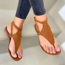 Planos de verano sandalias de las mujeres sandalias negro punta abierta sandalias de playa de mujer hebilla romana Correa zapatos de mujer 2021 de gran tamaño Flip Flops