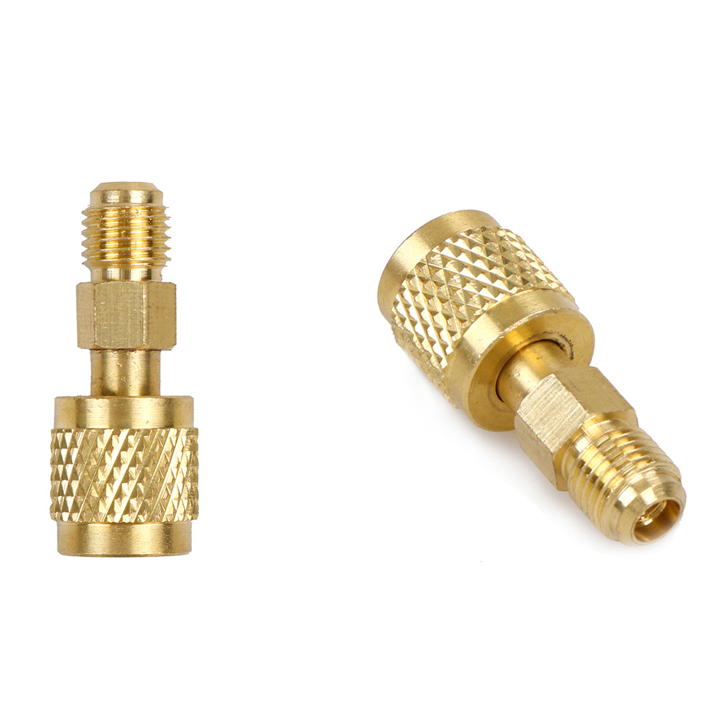 New R410 Brass Adapter 1/4