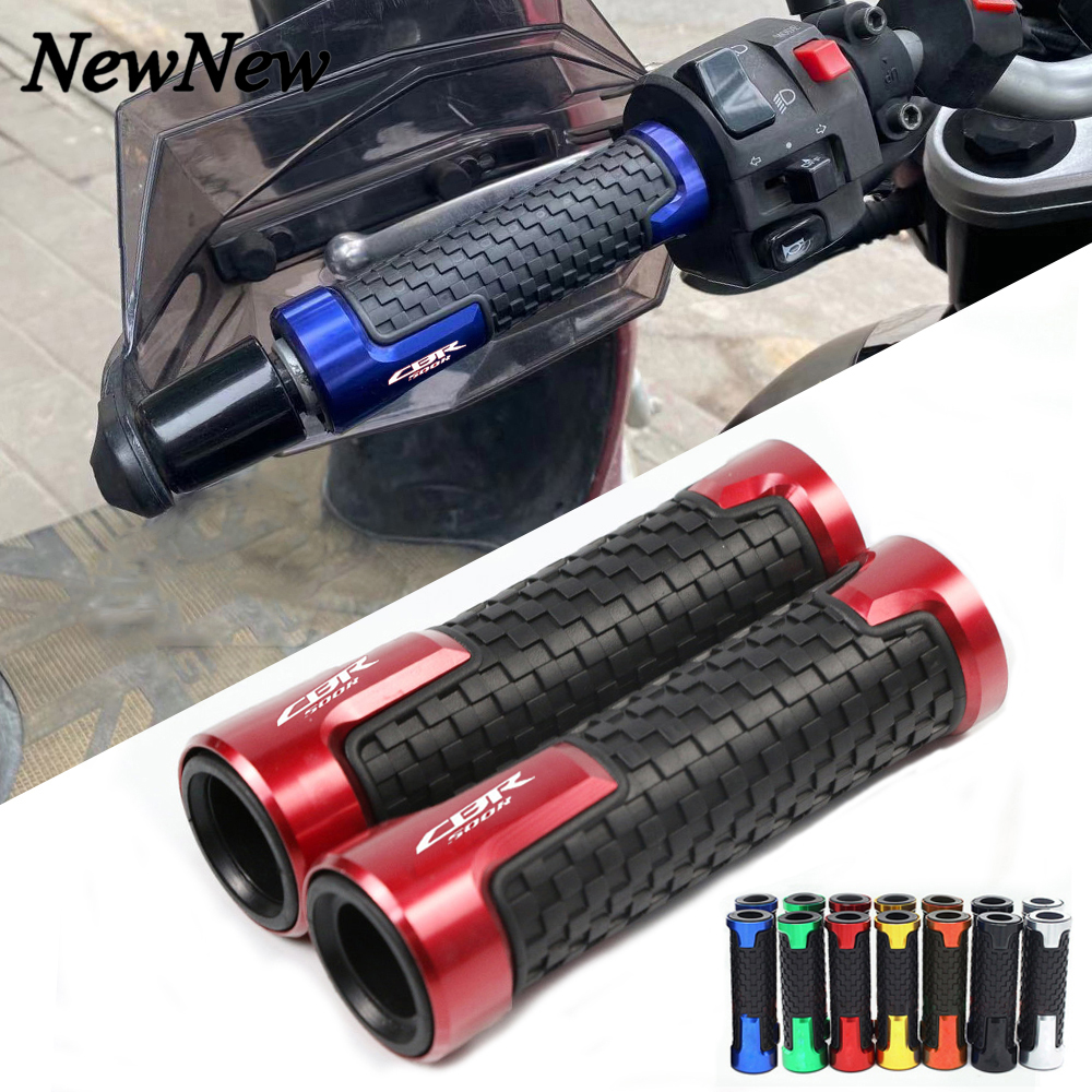 For Honda <font><b>CBR500R</b></font> CBR 500 R <font><b>CBR500R</b></font> CB500F/X 7/8'' 22MM Motorcycle Accessories Handlebar Grips Handle Grip Handle bar Grips End image