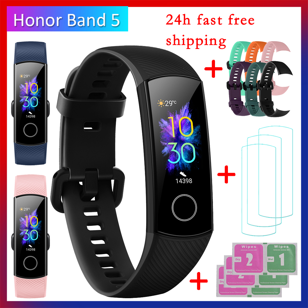 Huawei Honor Band 5 Fitness Bracelet BT4 2 Sleep Real Time Heart Rate Monitoring Waterproof Smart Innrech Market.com