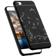 LANTRO JS Phone Case For REDMI 5 5plus Silical  Fitted Anti-knock Patterned