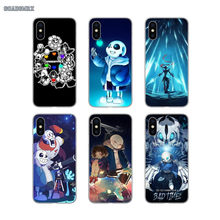 Undertale Papyrus Sans Silicone Phone Cover For Samsung Galaxy S2 S3 S4 S5 Mini S6 S7 Edge S8 S9 S10 Lite J4 J6 Plus 2018 Europe(China)
