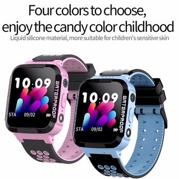 Kids Smart Watch LBS Positioning Lacation SOS Camera Children Watches Phone Smart Baby Watch Voice C