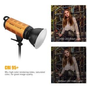 Image 5 - NiceFoto LED 1500AII 2000AII 150W 200W LED Light Lamp 3200 6500K Daylight Video Studio Light with LCD Display APP Control