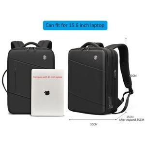 """Image 5 - ARCTIC HUNTER ชาย 15.6 """"กระเป๋าเป้สะพายหลังแล็ปท็อปขนาดใหญ่ Multi Layer กันน้ำ USB ชาร์จกระเป๋าเป้สะพายหลังกระเป๋าเดินทาง mochila"""
