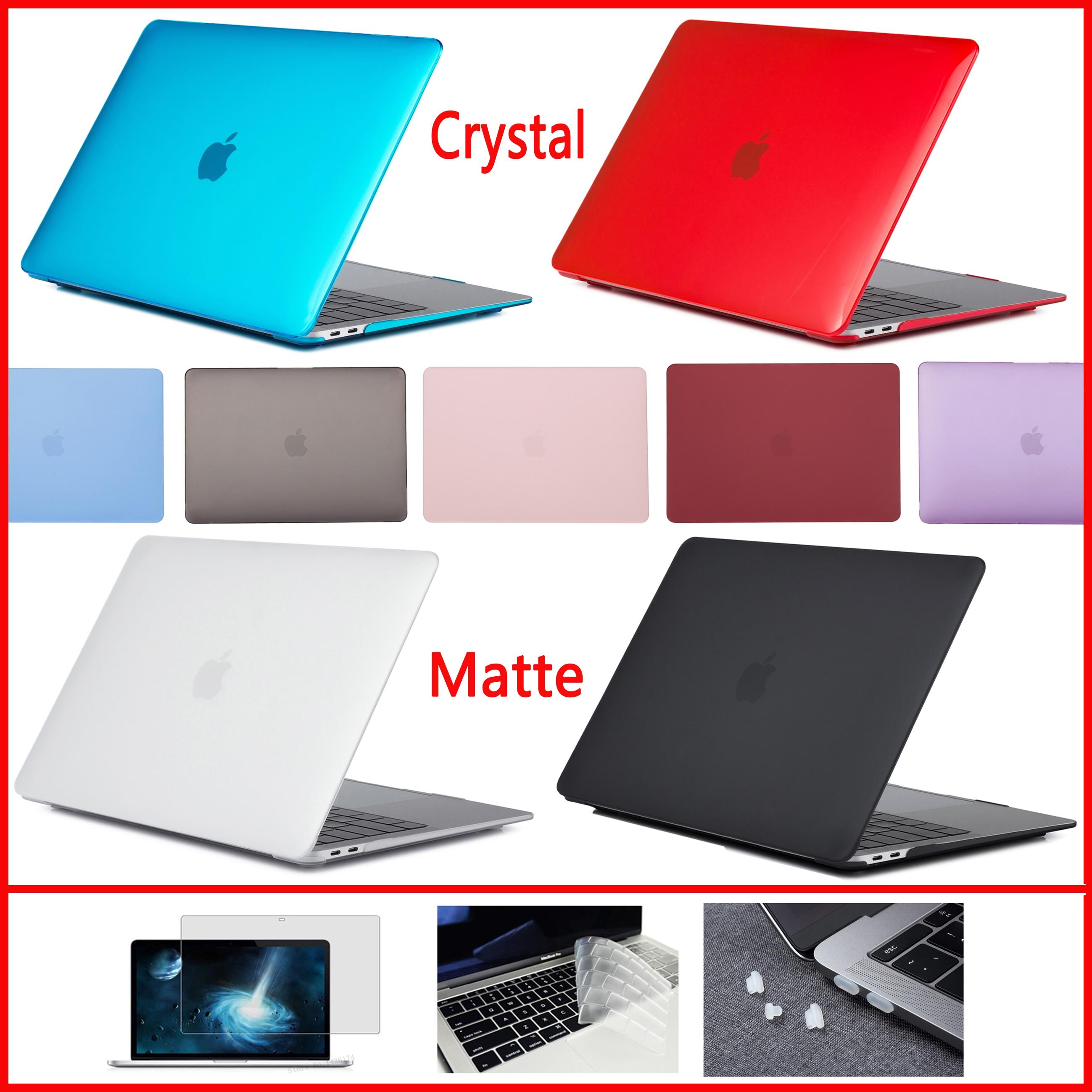 2020 Новый чехол для ноутбука Macbook Air 13 A1466 Touch bar/ID A1932 A2179, Air pro retina 11 12 13,3 15 16 дюймов A1706 A2159 A2251