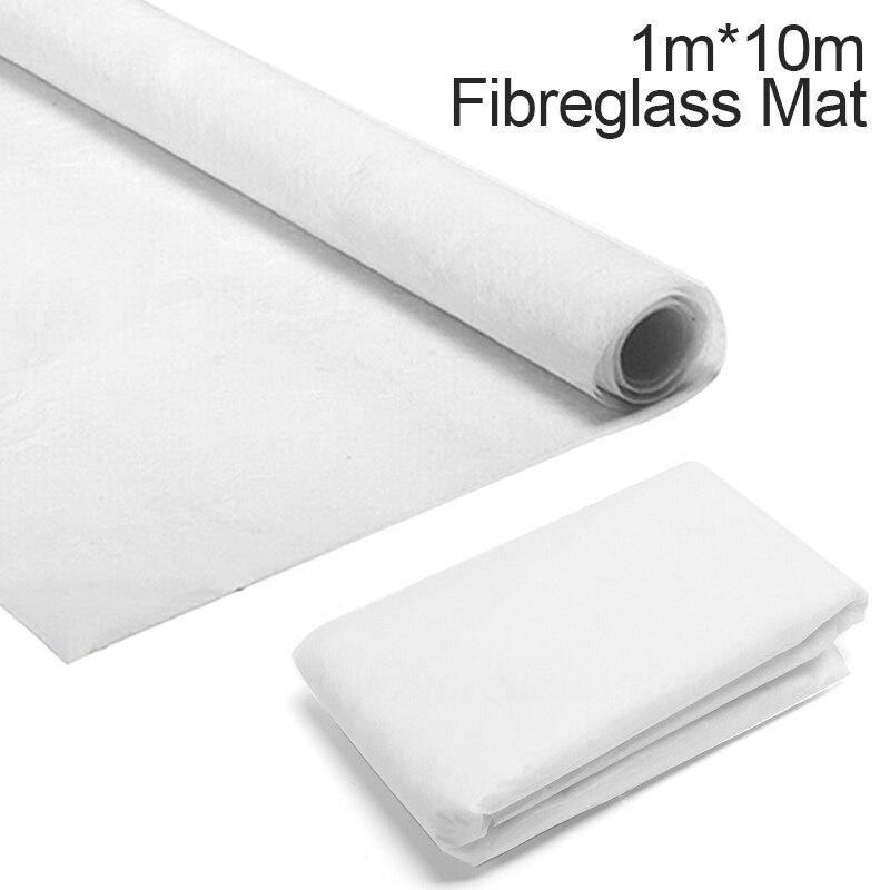 1m x 10m fibra de vidro esteira fibra de vidro de corte pano de fibra 30g alcaloide-livre fibra de vidro fio cortado matting para a tela da resina