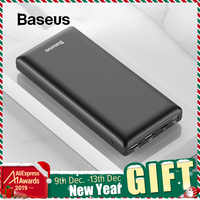 Baseus 30000mAh batterie externe PD USB C chargeur rapide Powerbank pour iPhone11 Samsung Huawei Type C chargeur Portable batterie externe